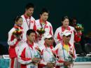 图文:郑波高崚获羽毛球混双冠举 中国大获全胜