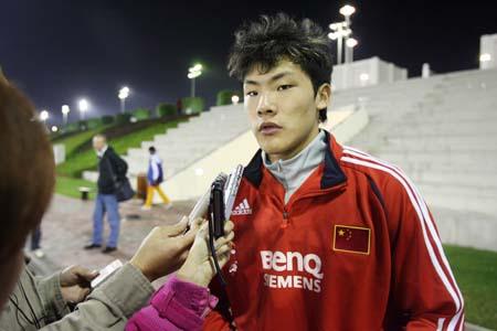 王大雷壁纸_王大雷不希望比赛时上镜 国奥也是亚运强队(图)