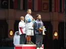 图文:钱吉成60kg称雄 成中国首个亚运健美冠军
