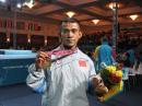 图文:钱吉成夺60kg冠军 中国收获首枚健美金牌