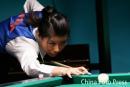图文:亚运会台球女子8球赛 周萌萌轻松晋级