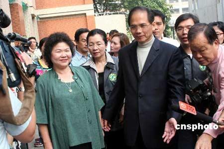 民进党候选人陈菊自行宣布当选 得票接近38万票