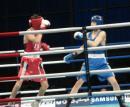 图文:亚运会男子拳击60公斤级 胡青挺进四强