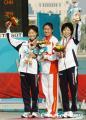 图文:亚运会女子马拉松 中国选手周春秀夺冠