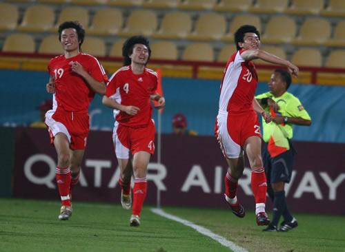 图文:国奥点球大战负于伊朗队 周海滨取得进球