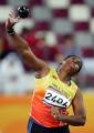 图文:亚运会女子铅球决赛 斯里兰卡选手在比赛