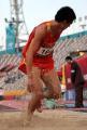 独家图片:男子跳远决赛 小将张晓一夺得第四名