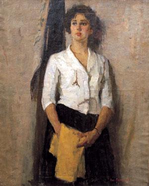 三代留俄时代办展被刺女生展示少女画家照片唯美伤痕网红图片