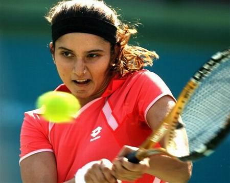 快讯:网球女单1/8决赛 印度选手米尔扎进八强