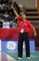 图文:中国男篮75-73黎巴嫩 黎巴嫩主帅在场边