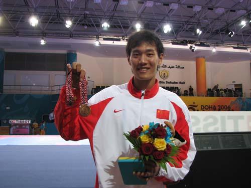 刘哮波跆拳道夺铜已满意 期盼更多比赛胜任奥运