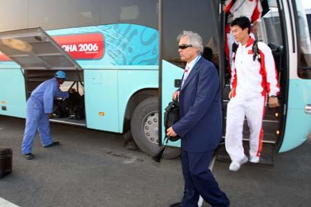 独家图片:国奥11日返京 杜伊接受搜狐体育专访