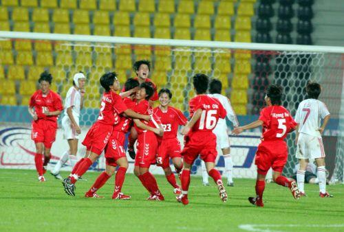 120分钟仅有5次射门 中朝女足亚洲足坛地位互换