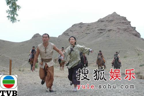 TVB剧集《火舞黄沙》精美剧照-21