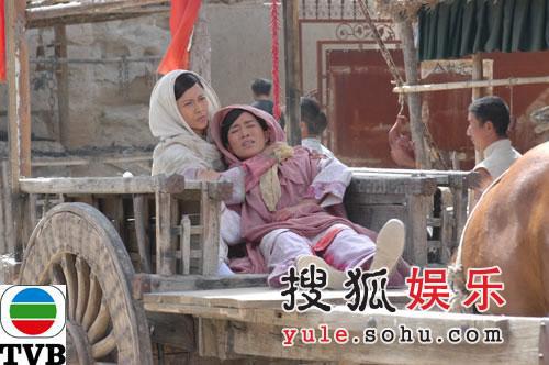 TVB剧集《火舞黄沙》精美剧照-23