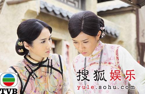TVB剧集《火舞黄沙》精美剧照-29