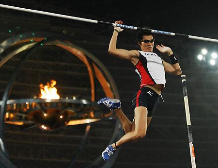 图文:多哈亚运会田径第二日 日本队夺三金