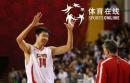 图文:中国男篮75-73黎巴嫩 大郅庆祝胜利