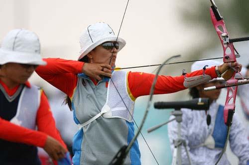 战报:中国队女子个人射箭取得突破 赵玲获铜牌