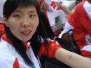 图文:中国女篮77-53战胜韩国 陈楠左臂被抓伤
