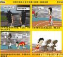 漫画:刘翔冲刺未尽力 预赛小组第一挺进决赛