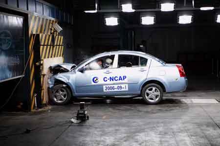 奇瑞A5完成C-NCAP碰撞测试获得普遍好评