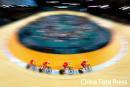 图文:男子4公里团体追逐赛 中国队获得铜牌