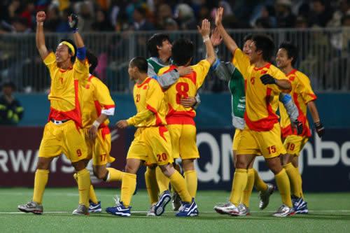 图文:中国男子曲棍球队逆转巴基斯坦 晋级决赛