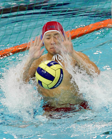 男子水球中国将与日本争冠 已获明年世锦赛资格