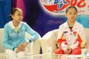 图文:体操小将做客华奥-搜狐 两位体操小将