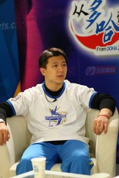 图文:体操小将做客华奥-搜狐 陈一冰的直率