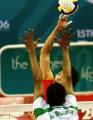图文:中国男排3-2胜沙特 涉险晋级亚运会决赛