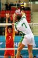 图文:中国男排涉险晋级决赛 沙特队7好重扣