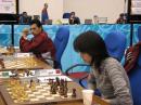 图文:国际象棋团体赛印度提前夺冠 诸宸夫妇