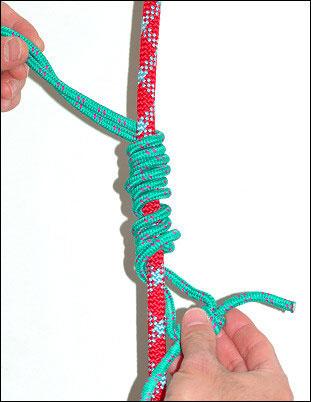 攀岩常用的绳结图解