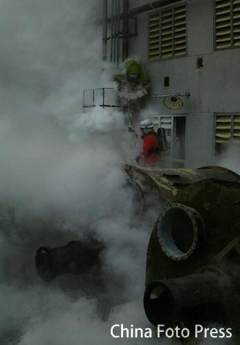 广州东圃化学品大泄漏(6张)