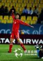 图文:中国女足胜韩国夺亚运铜牌 王坤进球怒吼