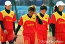 图文:垒球中国不敌中国台北获铜牌 黯然离场