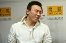 图文:陈祚做客搜狐谈夺金 陈阼回首往事