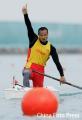 图文:男子划艇单人500米杨文军夺冠 谁是英雄