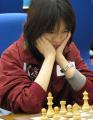 图文:亚运会国际象棋团体赛最后一战 诸宸沉思