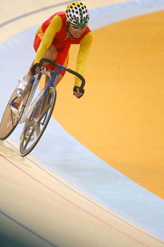 图文:美图大赏之五 自行车男子凯林赛第一组