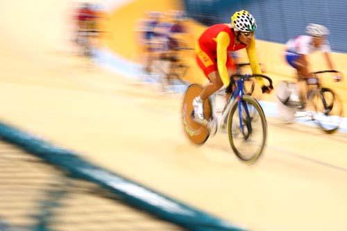 图文:美图大赏之六 自行车男子凯林赛第一组