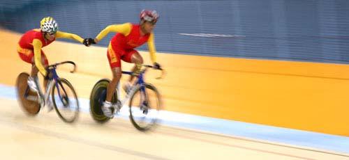图文:美图大赏之十三 自行车男子凯林赛第一组