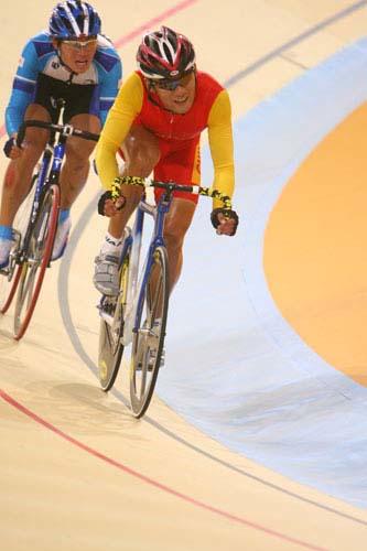 图文:美图大赏之十四 自行车男子凯林赛第一组
