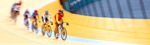 图文:美图大赏之十五 自行车男子凯林赛第一组