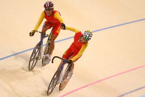 图文:美图大赏之二十一 自行车男子凯林第一组