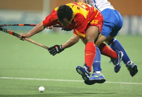 图文:中国男曲1-3不敌韩国 中国队进攻受阻