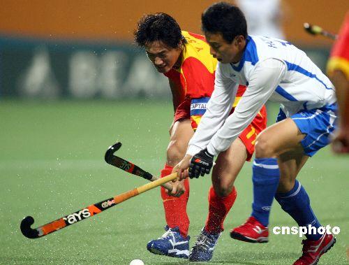 图文:男曲决赛中国1-3韩国 双方队员展开对攻