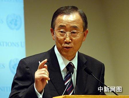 潘基文:优先考虑女性担任联合国常务副秘书长